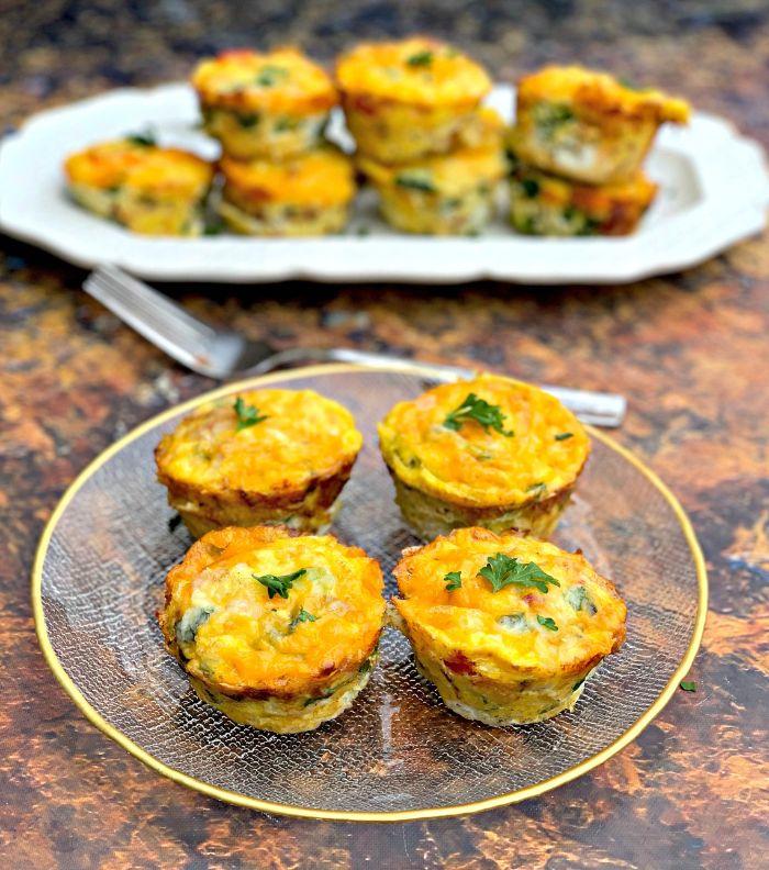recetas cetogenicas para desayuno, originales ideas de recetas keto para toda la familia, magdalenas con poco carbohidratos