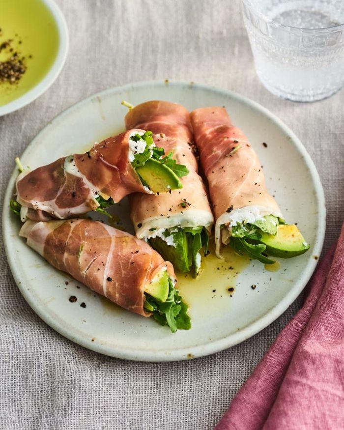bocados ricos y fáciles de hacer para comenzar una dieta cetogénica, fotos con ideas de recetas cetogenicas, aperitivos fáciles y rápidos