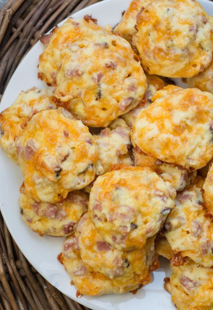 ocados con huevos, tocino y champiñones, magdalenas saladas super ricas, fotos de comidas para una dieta cetogenica menu