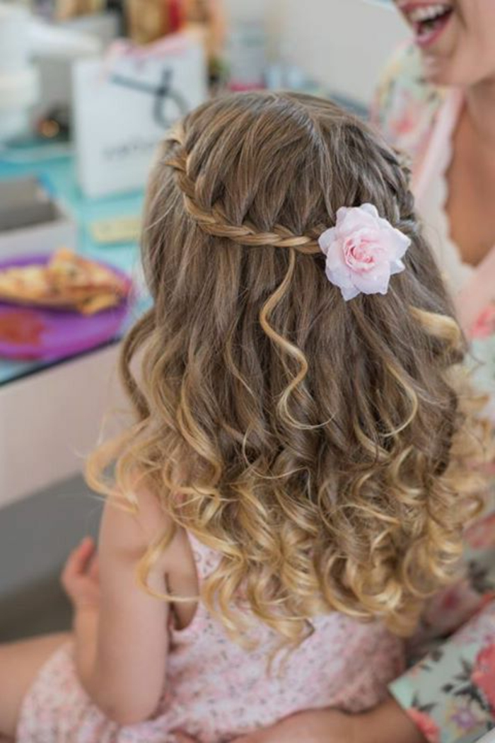 Sencillo y bonito peinados comunion niña Colección de tendencias de color de pelo - 1001 + ideas ingeniosas de peinados de comunión hermosas