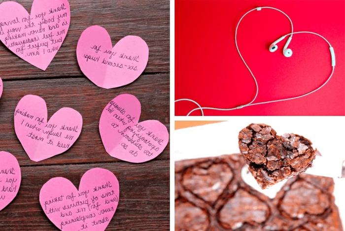 tres propuestas de detalles romanticos pequeños para regalar a tu noivo en san valentin, ideas de manualidades