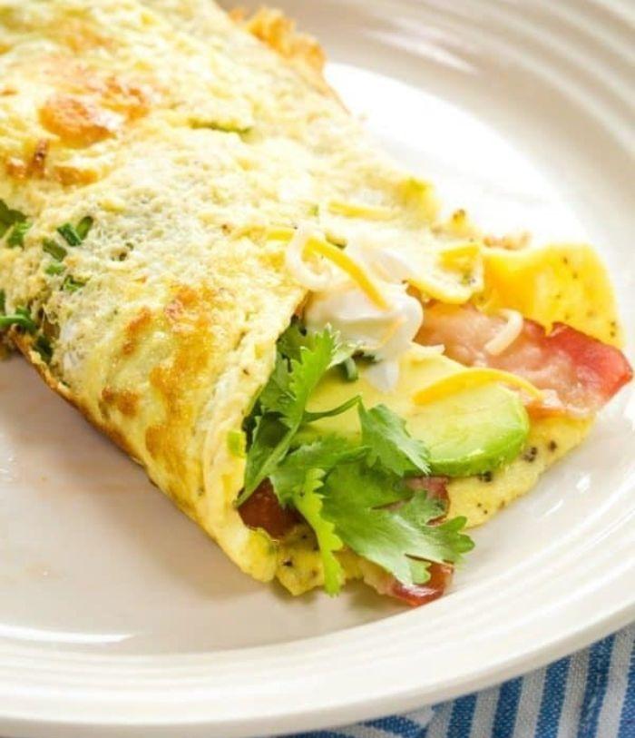 como preparar keto burritos paso a paso, dieta cetogenica alimentos y platos fáciles de hacer, ideas para platos con huevos