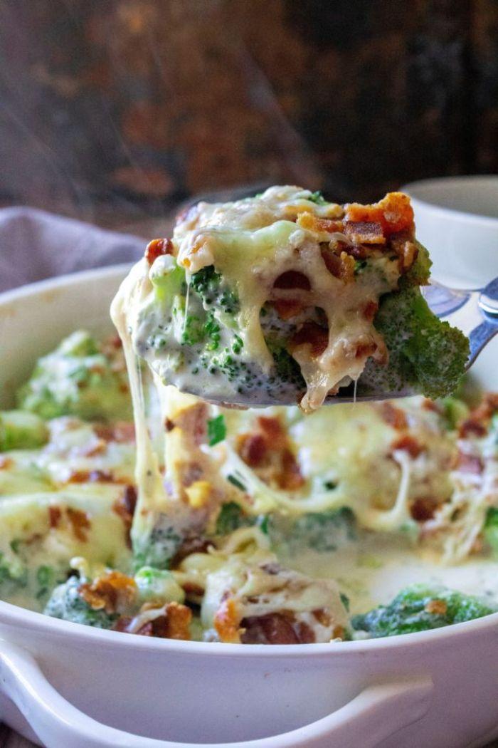 como preparar platos con pollo y brocoli dieta cetogenica menu semanal, ideas de platos para una cena ligera keto