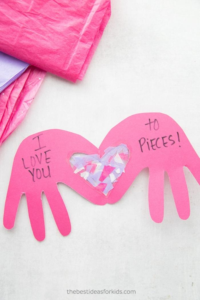 tarjeta DIY hecha de cartulina, tarjetas personalizadas y bonitas, fotos de tartjetas caseras hechas con cartulina paso a paso