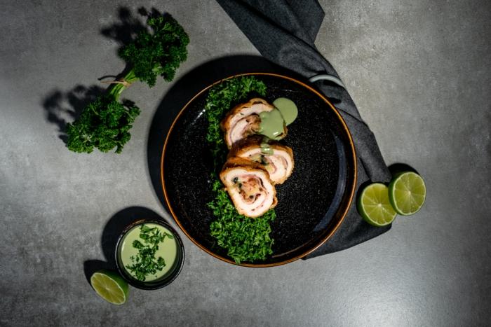 como hacer recetas cetogenicas para bajar peso, receta de cordon bleu ceotenico, fotos de recettas con etapas paso a paso