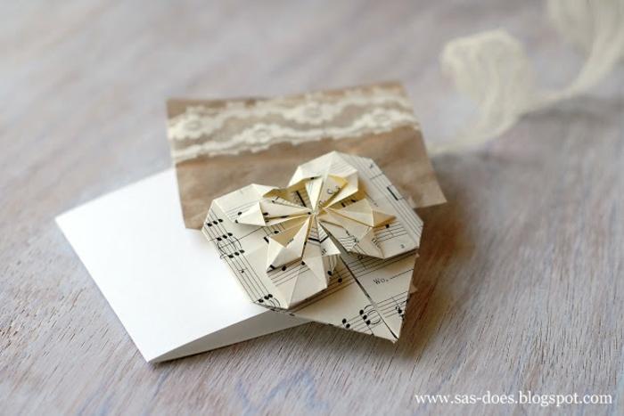 ideas de manualidades para reciclaje para regalar, manualidades de papel reciclada, como decorar una carta paso a paso