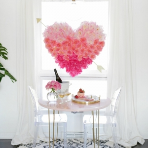 Decoración para San Valentín para un ambiente romántico y especial