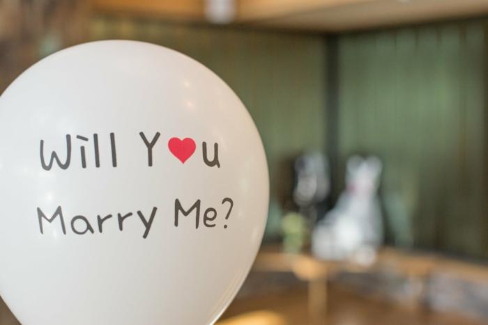 globo sorpresa para el Día de San Valentín, originales ideas de imagenes bonitas sin frases y ideas para san valentin