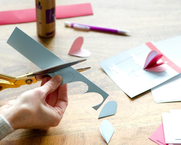 como hacer tarjetas de san valentin 3D paso a paso, las mejores ideas de detalles para regalar con tutoriales paso a paso