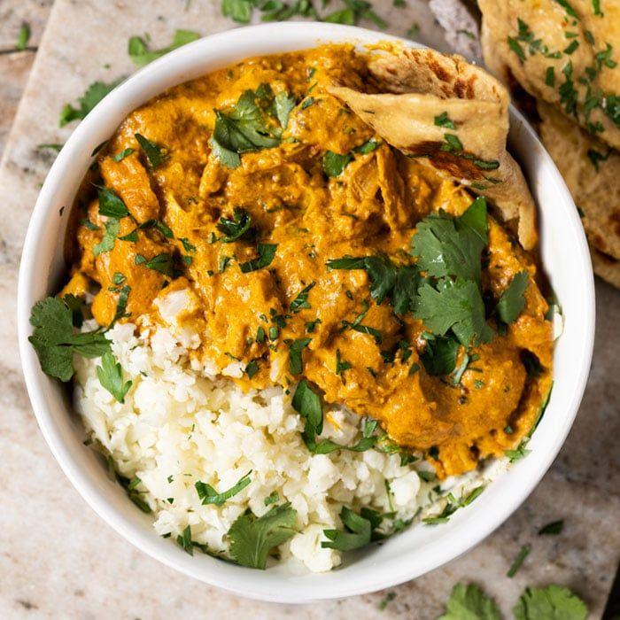 pollo con curry y arroz blanco, ideas de recetas saludables y super fáciles para hacer en casa, dieta cetogenica opiniones