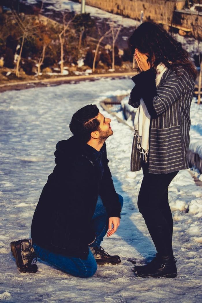 propuesta super romántica en un día de invierno, las mejores imagenes de parejas enamoradas para descargar gratis