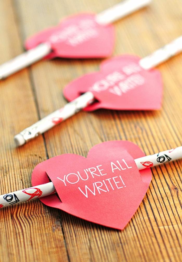 tarjetas para san valentin para intercambiar, ideas de manualidades infantiles, fantásticas ideas de detalles san valentin