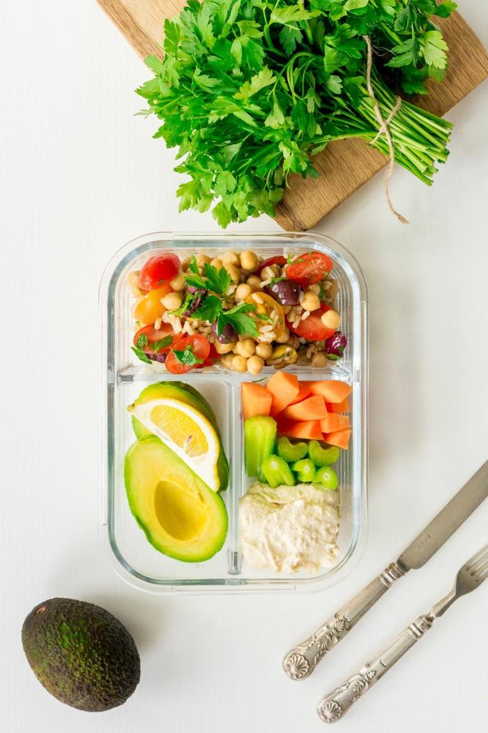 originales ideas de comidas veganas para llevar a la oficina, comidas para llevar al trabajo ricas y fáciles de preparar