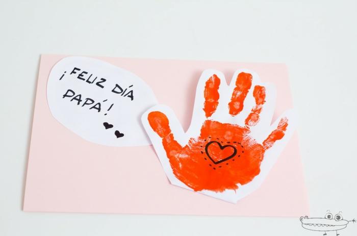 tarjetas del dia del padre simpáticas hechas a mano, fotos de tarjetas DIY bonitas, tarjetas infantiles DIY originales
