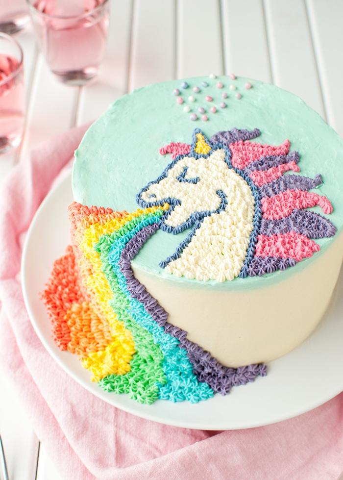 los mejores ejemplos de tartas personalizadas, como preparar una tarta de unicornio, imagenes de tartas bonitas