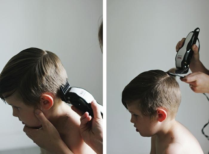 fotos con tutoriales paso a paso de cortes y peinados, cortes de pelo para niños, las ultimas tendencias en peinados niños
