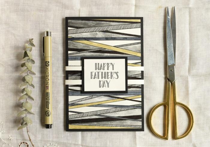 fantasticas ideas de tarjetas del dia del padre, manualidades para regalar fáciles, rápidas y originales, ideas en imagenes