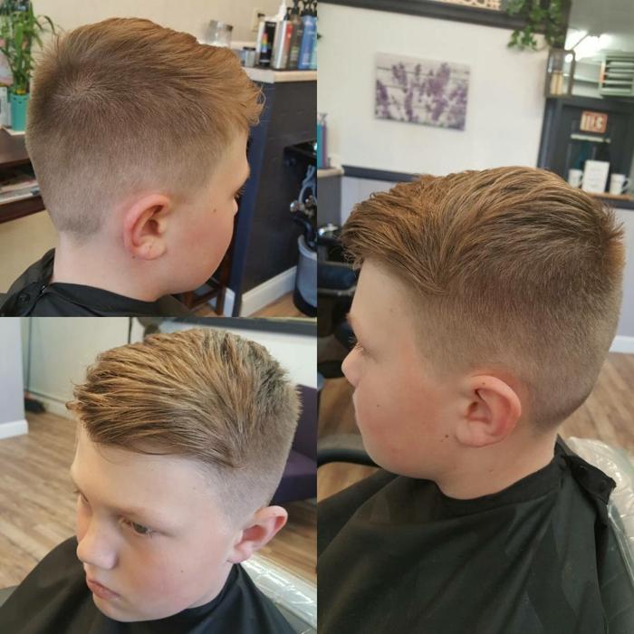 los peinados masculinos más modernos para niños pequeños, fotos de cortes y peinados originales, corte de pelo niño