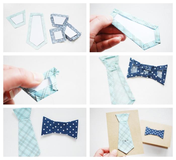 tutoriales de manualidades paso a paso, como hacer una tarjeta corbata personalizada, las mejores ideas de proyectos DIY para regalar