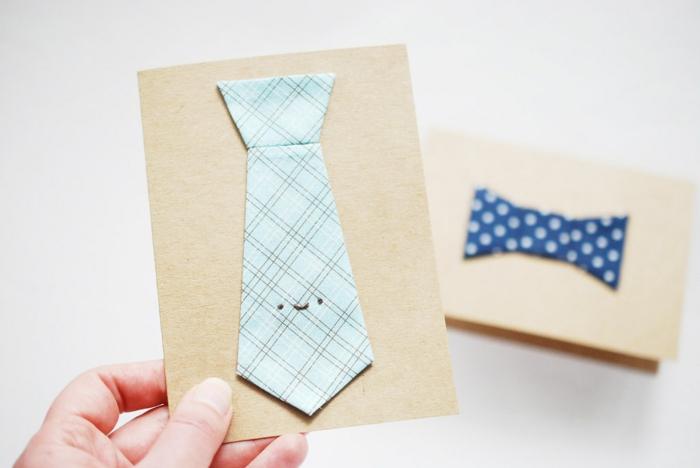 tarjetas DIY originales y fáciles de hacer, ideas de manualidades con tela originales, fotos de manualidades fáciles y rápidas
