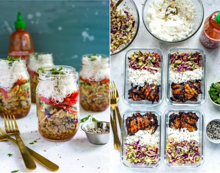 excelentes ideas de comidas tupper para tu jornada laboral, comidas frias y platos ricos para llevar a tu oficina en fotos