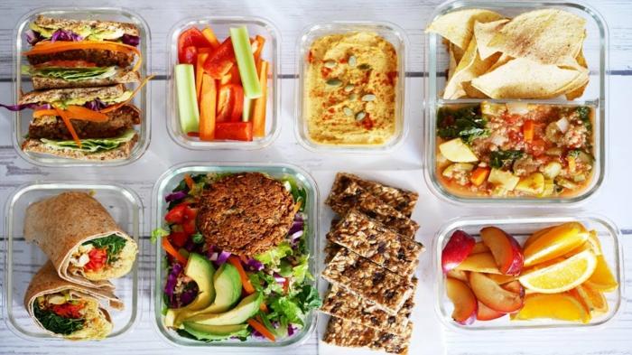 originales ideas de recetas tupper para la semana entera, fotos de comidas fáciles para preparar para tu almuerzo en la oficina