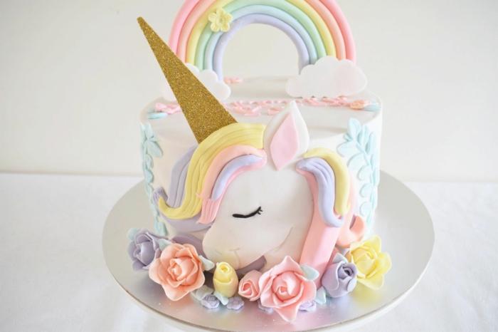 más de 80 ideas de pasteles unicornio originales, fotos de pasteles decorados de una manera unica, fotos de tartas personalizadas