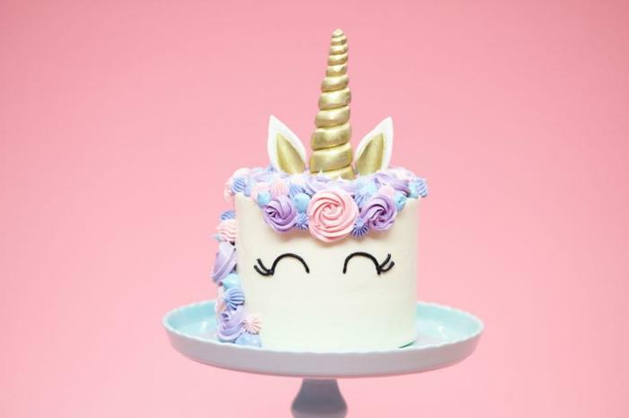 las tartas unicornio más bonitas, pasteles unicornio originales y fáciles de preparar en casa, fotos de tartas ricas y originales