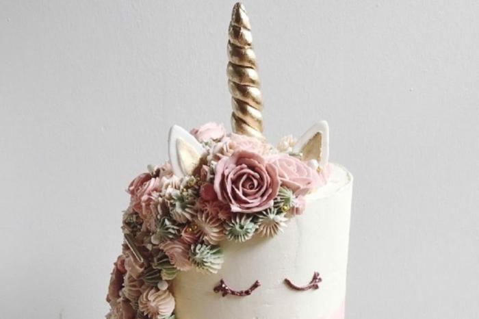 pasteles de unicornio super ricos, fotos de pasteles para sorprender a tu familia, las mejores ideas para tartas caseras