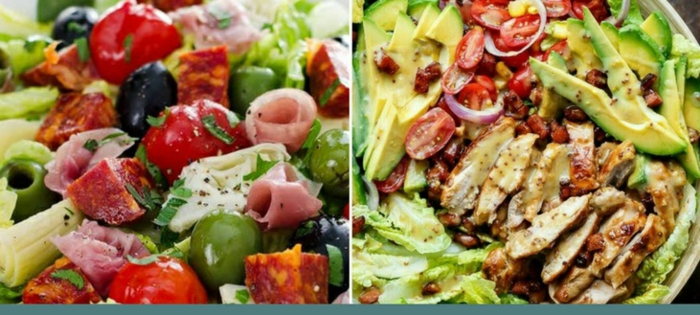 las mejores ideas de ensaladas con pollo, recetas faciles y economicas para todos los dias, ensaladas con aguacate