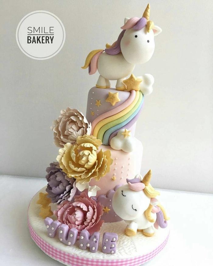 tartas y pasteles unicornio originales y fáciles de hacer, pasteles unicornio super originales, más de 90 fotos de tartas