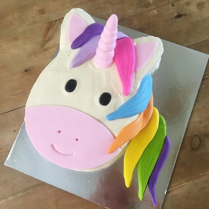 fantásticas ideas de tartas y pasteles unicornio, los mejores ejemplos de pasteles uniconio en fotos, tartas personalizadas