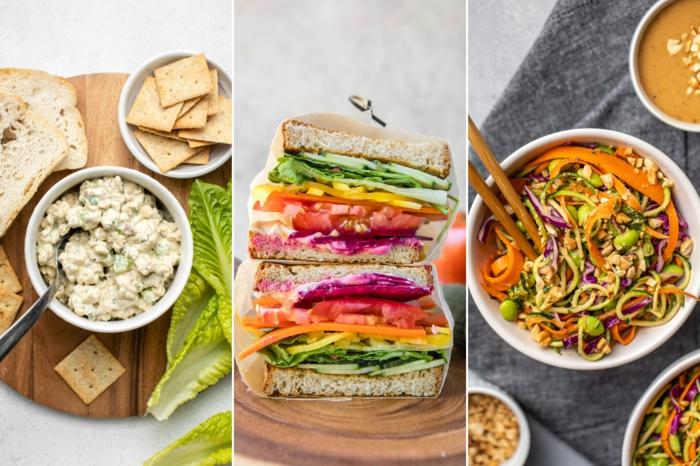 3 propuestas de comidas vegetarianas para llevar a tu oficina, comidas con proteinas, recetas fáciles y saludables
