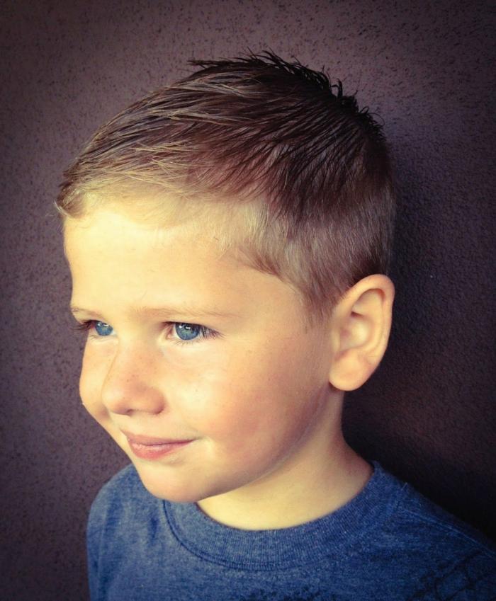 cortes de pelo modernos para pelo corto, ideas de cortes de pelo para bebés y niños, cortes de pelo con flequillo