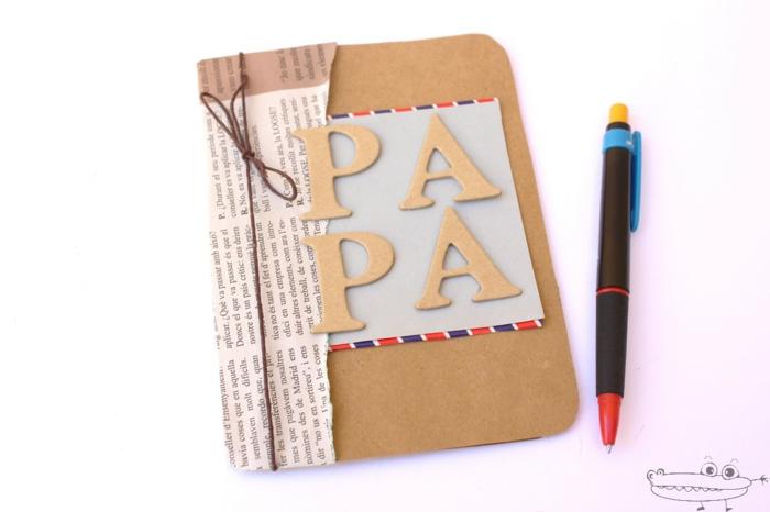 las mejores ideas de tarjetas DIY para regalar, tarjetas para eventos especiales manualidades con reciclaje, regalos para el dia del padre manualidades