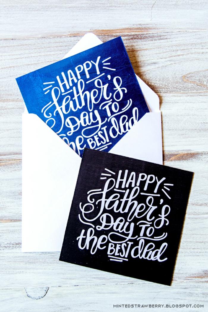 fotos de tarjetas personalizadas, regalos para el dia del padre manualidades, tarjetas DIY para imprimir bonitas