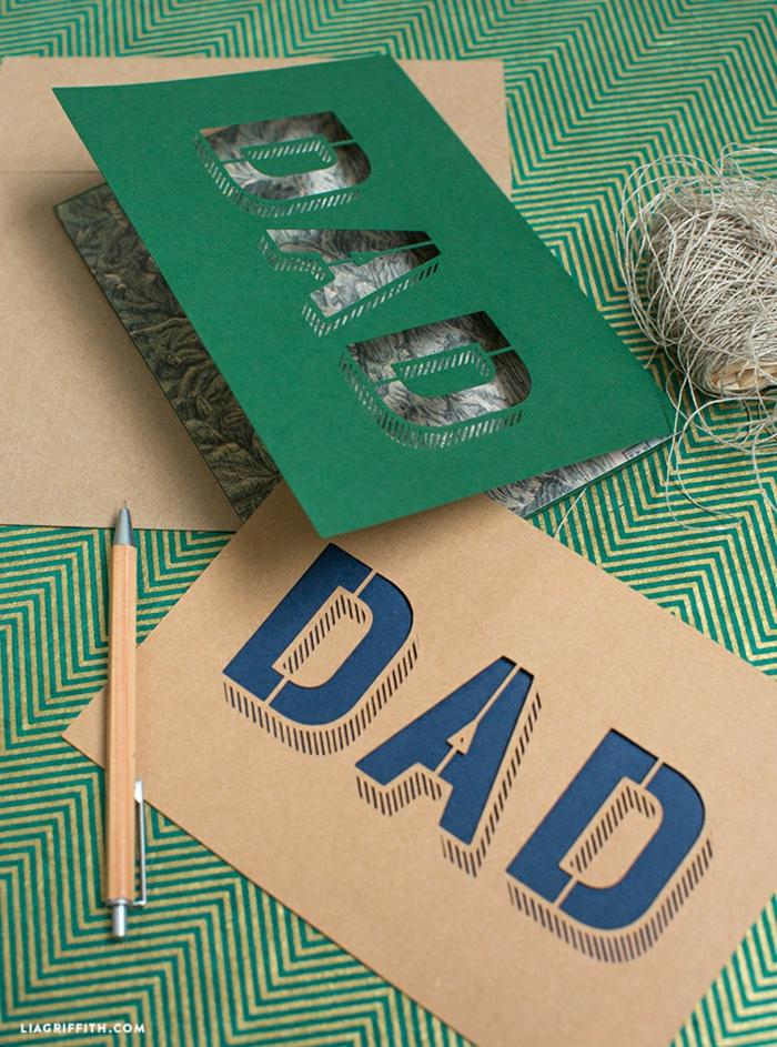 fotos de tarjetas DIY originales y faciles de hacer, manualidades con cartulina bonitas, fotos de tarjetas para regalar