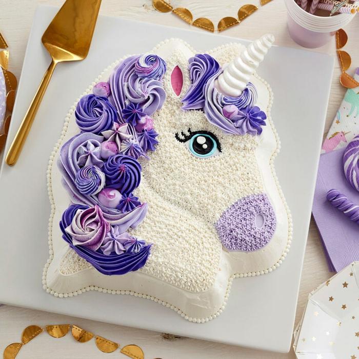ideas para cumpleaños unicornio en imagenes, bonitas ideas sobre tartas personalizadas ricas para fiestas infantiles