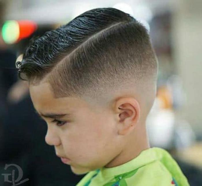 cortes con raya y peinados con laca, tendencias y peinados elegantes para tu crio, fotos de cortes de pelo originales