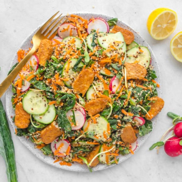 comidas faciles de hacer y originales para tu almuerzo, ensaladas ricas y saludables, fotos de comidas para preparar en casa