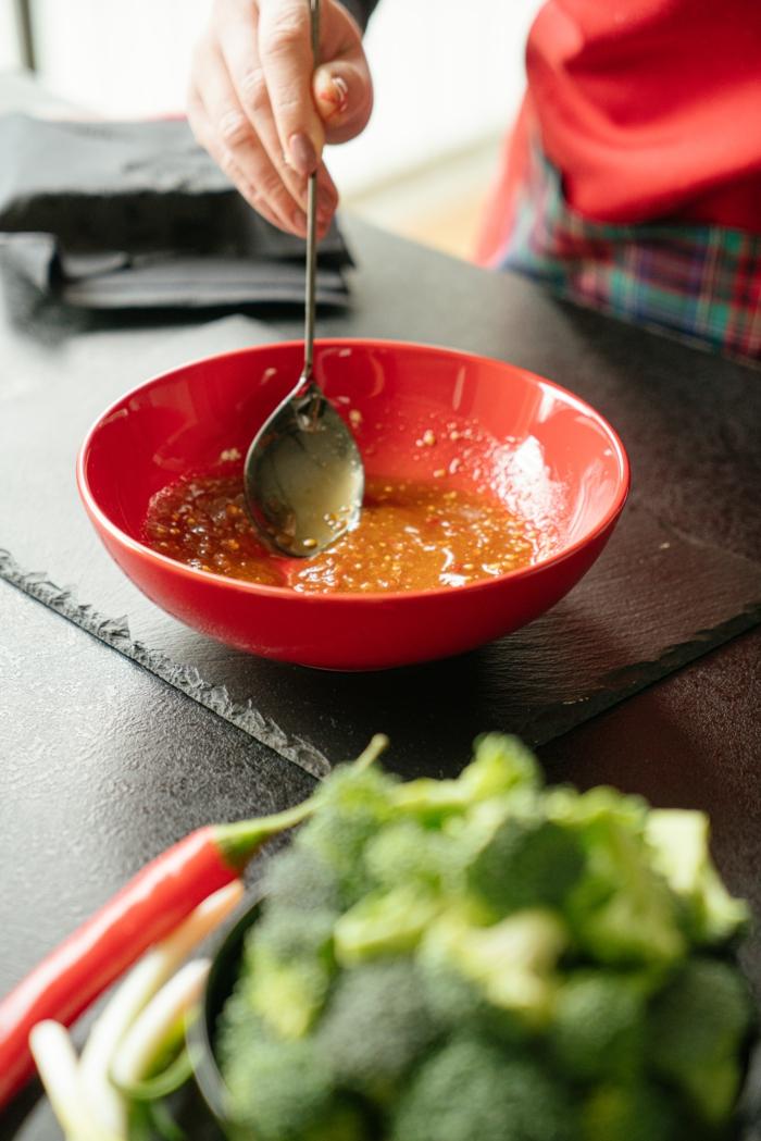 marinar tofu paso a paso, recetas veganas con tofu, ideas de recetas saludables con arroz en fotos paso a paso