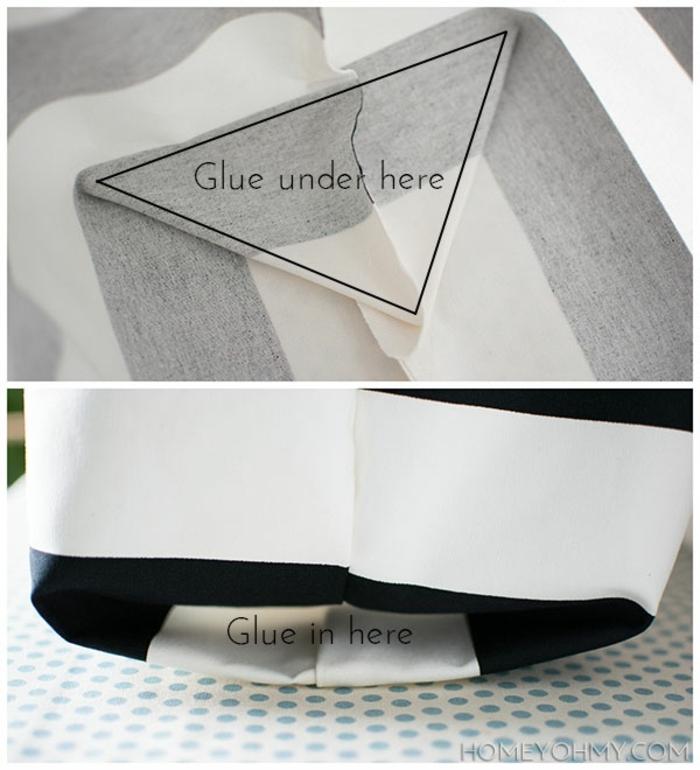 fotos con ideas sobre como hacer bolsas de tela, fantasticas ideas de manualidades para regalar en imagenes paso a paso