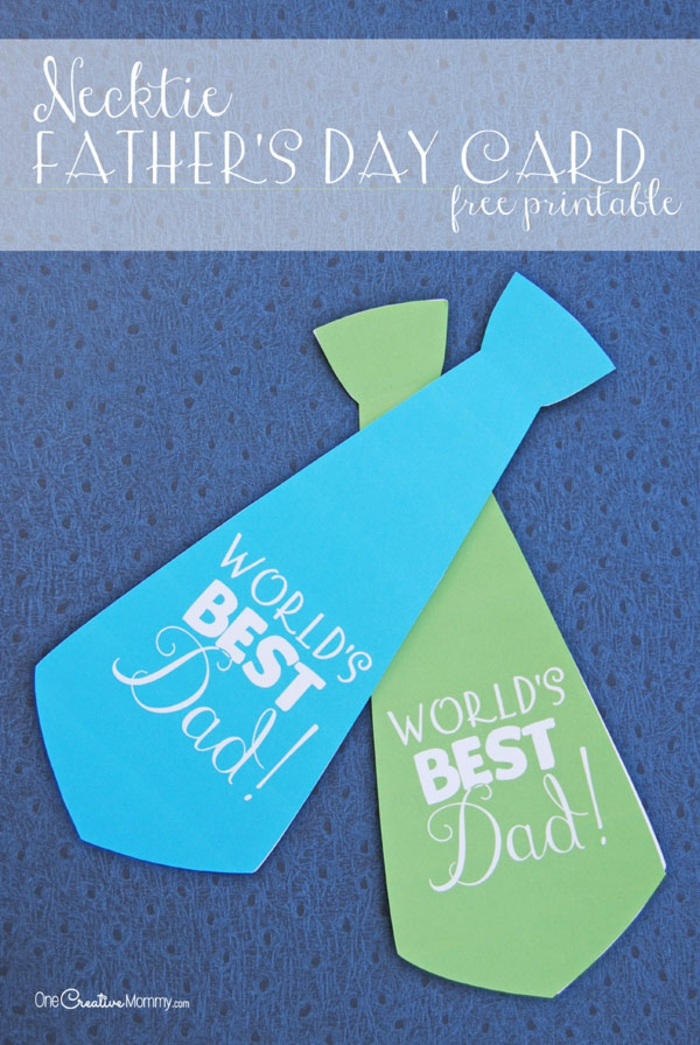 tarjetas corbata para el dia del padre, detalles originales y coloridos para regalar, fotos de pequeños regalos dia del padre