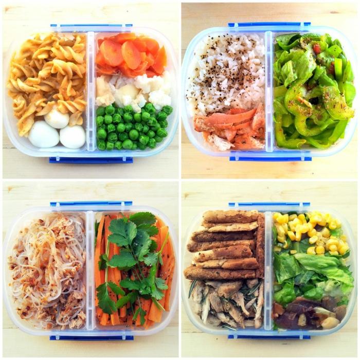 comidas que no engordan para la oficina, cuatro propuestas de comidas saludables para un menú equilibrado