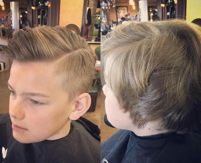 fantasticas ideas de cortes de pelo con degradado, ultimas tendencias en los peinados y cortes de pelo hombre en fotos