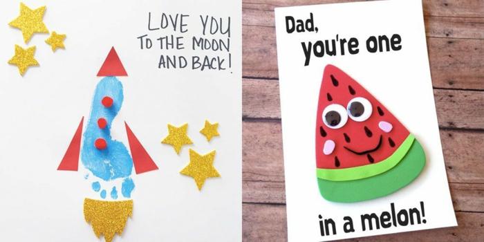 te quiero hasta la luna y de vuelta, papa tu eres unico, fotos de tarjetas personalizadas con palabras originales