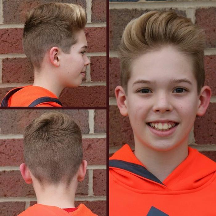 cabello corte con degradado, originales ideas de cortes de pelo y peinados con tupé, fotos de cortes de pelo originales