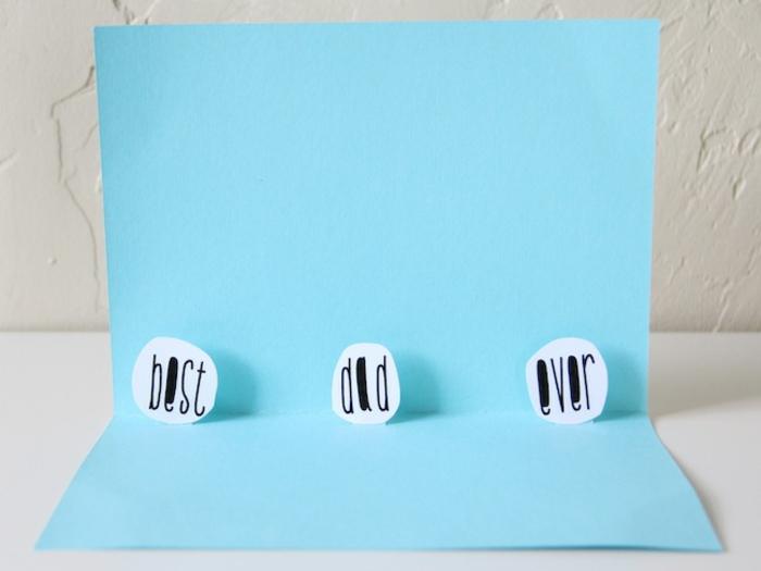 fantasticas ideas de tarjetas para regalar a tu padre, fotos de tarjetas DIY originales, ideas de tarjetas para descargar