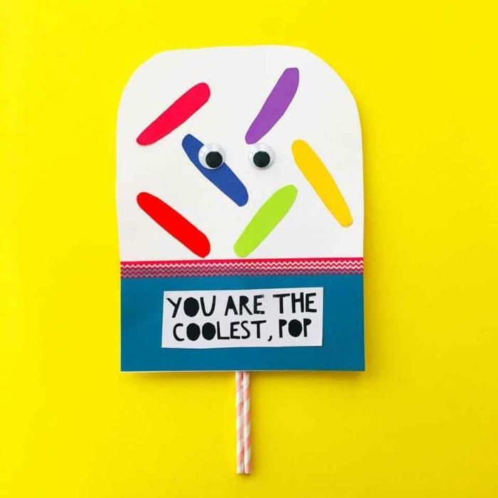 eres el mejor papa, fotos de tarjetas originales y faciles de hacer, tarjetas de papel hechas a mano, fotos de tarjetas