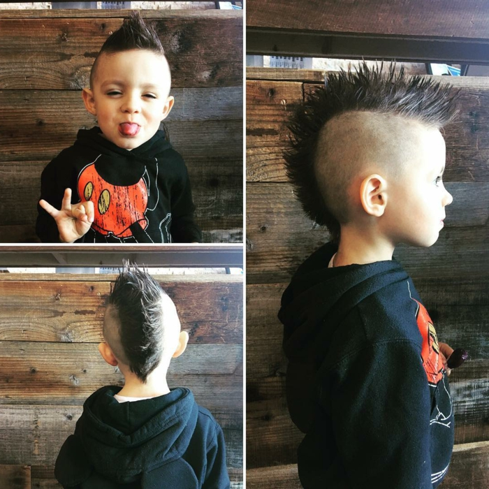 super originales ideas de peinados hipster para los pequeños, fotos con ideas de peinados y cortes de pelo originales